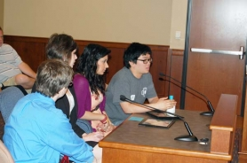 by: RAYMOND RENDLEMAN Back in May, students from Milwaukie High School's HOPE Club (Help Our People Exceed) asked the Board of County Commissioners to help fund a school-based health center. They were clearly successful since Clackamas County put in $50,000 to get the ball rolling.