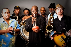 by: Courtesy of Red Light Management The New Orleans jazz group Dirty Dozen Brass Band performs Aug. 28 at the Vancouver Wine & Jazz Festival.