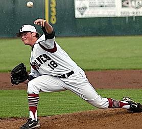 by: Dan Brood BRING IT — Tualatin's Austin Richmond is now dealing his magic for Portland Baseball Club in the Senior Babe Ruth World Series in Ephrata, Wash.