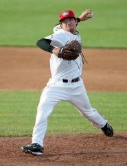 by: courtesy of Tri-City ValleyCats MINOR SENSATION — Tualatin graduate Mitchell Lambson delivers a pitch for the Tri-City ValleyCats.