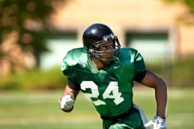 by: CHRISTOPHER ONSTOTT DeShawn Shead, moving from cornerback to safety, returns as one of Portland State's key players.