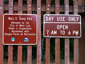 by: lori hall Ever notice the lack of rules at West Linn parks? A new amendment will make it easier to create and enforce park rules.