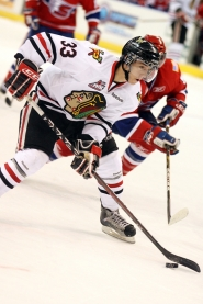 by: COURTESY OF BRYAN HEIM Center Nic Petan is one of several Western Hockey League rookies who could contribute to the Portland Winterhawks this season.