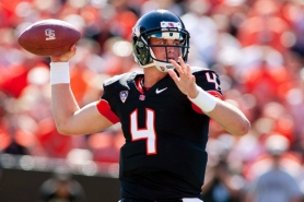 by: CHRISTOPHER ONSTOTT Oregon State's Sean Mannion turned down UCLA's scholarship offer out of high school in Pleasanton, Calif. Next week, he'll start at quarterback as the Beavers play host to the Bruins.