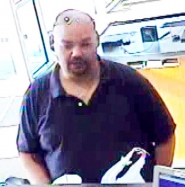by: CCSO This man is suspected of committing recent bank robberies in Clackamas County and Gresham. He reportedly walked into the banks, claimed to have an explosive device and left with undisclosed amounts of money.