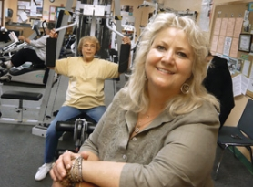 "by: Janie Nafsinger ""Fitness is kind of the word of the moment,"" says Linda Jo Enger, supervisor of Beaverton's Elsie Stuhr Center. The center reopened Sept. 18 after a major remodeling project that includes doubling the size of the workout area."