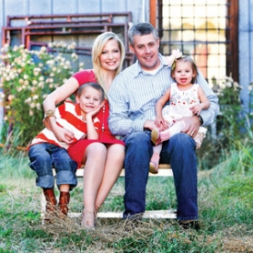 by: Kelly Armijo Katie Harman Ebner, her husband, Tim Ebner, and their children, Tyler and Tori, now live on a 5-acre farm in Southern Oregon.