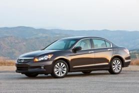 by: Honda Motor Company The 2012 Honda Accord gets the job done with attracting undue attention.