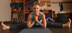 by: VERN UYETAKE Gudmestad has been a physical therapist for 34 years and her niche is to integrate yoga into her therapy.