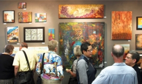 by: Jim Clark The large crowd at the Columbia River Gallery's encaustic artists reception Sept. 22 points to the medium's growing popularity, gallery officials said.