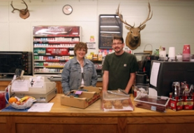 by: Jim Clark The Corbett Country Market stayed in local hands when Aims residents Patrick Oldright and Amie Fedorka bought it a couple months ago.