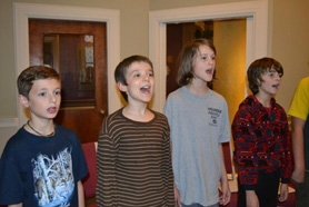 by: submitted photo The Portland Boychoir will be performing Oct. 15 in Lake Oswego. Pictured are Reilly Smith, Thomas Parsons, Noah Gladen-Kolarsky and Sean Finucane.
