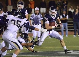 by: VERN UYETAKE Grant Turner had two rushing touchdowns for Lake Oswego in its 41-14 victory over Canby last week, setting up Friday's showdown with 5-0 Lakeridge.