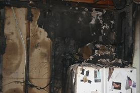 by: Clackamas Fire District No. 1 A toaster likely caused this extensive damage to a kitchen in Happy Valley on Tuesday morning.
