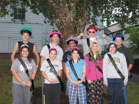 by: Chase Allgood The Gaston High Homecoming court is pictured above. It includes prince Jake Anderson and princess Sarah Monares; prince David Carr and princess Telisha Barth; prince Kevin Reynolds and princess Kelsey Reynolds; prince Ruger Sanow and princess Christina Spry; and prince Levi Reeves and princess Mackenzie Smith. All the students are seniors.