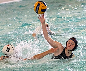 by: Miles Vance SHE SHOOTS – Westview sophomore Madison McGlone (shown here against Southridge) and her Wildcat teammates shut out Sunset 4-0 last week at Sunset Swim Center.