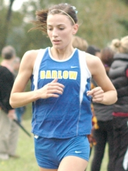 by: Kris Anderson Barlow's Mandie Maddux led the Bruins with a third-place overall finish Wednesday in Canby.