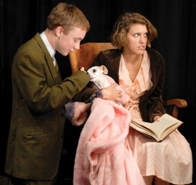 "by: Courtesy photo Glencoe High School thespians Bailey LuBean and Alana Birkeland are members of a cast of 20 debuting Friday in ""Who Killed Toto?,"" a live murder mystery in Hillsboro."