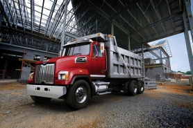 by: Courtesy of DTNA Daimler Trucks North America plans to add 350 new jobs early next year to increase production of heavy-duty trucks like this one at its Portland plant.