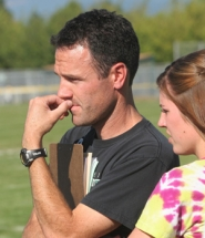 by: Jim Clark Reynolds High cross country coach and science teacher Tadd Reaney is in his 14th season with the program.