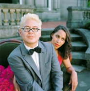 "by: Courtesy of Autumn de Wilde Pink Martini will ""occupy"" Pioneer Courthouse Square Oct. 28."