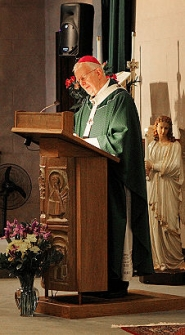 by: David F. Ashton Most Reverend John G. Vlazny, Archbishop of Portland, presents the Homily.