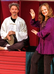 "by: David F. Ashton Brooklyn Bay Theater's Melanya Helene and Mark Otto are already preparing for their December ""Play after Play"" family presentation, ""The Drum""."