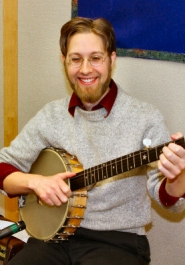 "by: David F. Ashton Paul Silveria says he loves performing for kids and families as ""Professor Banjo""."