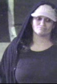 by:  This female suspect is being sought in connection with two armed robberies in Gresham and Troutdale.