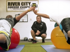by: Jim Clark Christopher Cramer, owner of River City Sports Performance, is a strength and conditioning coach, with an emphasis on movement to prevent injury in athletics or every day life.