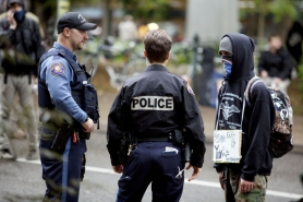 by: CHRISTOPHER ONSTOTT Portland police are worried Occupy Portland protesters are assembling and storing Molotov cocktails at the camp site at Chapman and Lownsdale squares, like the one thrown Tuesday evening at the downtown World Trade Center.