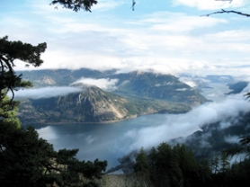by: Contributed photo The Columbia River Gorge National Scenic Area Act, which includes Wind Mountain, will mark its 25th anniversary Thursday, Nov. 17.