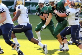 by: Courtesy of Portland State University Linebacker Ryan Rau believes his team has made huge strides physically this year.