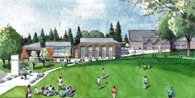 by: Rendering by Opsis Architecture Here's a good look of the planned new Reed College Performing Arts Center.