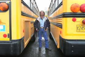 by: Jim Clark Reynolds School District bus driver Skip Pillow received honorable mention in a nationwide contest for Bus Driver of the Year.