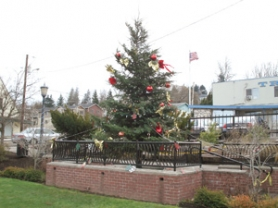 by: Contributed photo Troutdale hosts its annual tree lighting ceremony Friday, Dec. 2. See below for details.