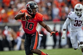 by: COURTESY OF OREGON STATE UNIVERSITY Oregon State cornerback Lance Mitchell is a veteran on an overall young Beavers defense.
