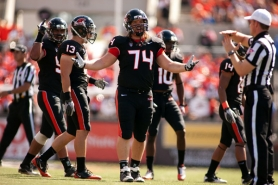 by: CHRISTOPHER ONSTOTT As other players were lost to injury or for other reasons, and some disappointed, defensive lineman Kevin Frahm from Central Catholic became one of Oregon State's precious few senior leaders in 2011.