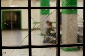 by: CHRISTOPHER ONSTOTT A broken window leads into the cafeteria at Cleveland High School, which would have been the biggest beneficiary of the failed facility bond measure in May. Superintendent Carole Smith is launching another public process to look at the district's aging buildings. A Dec. 6 talk at Benson High School, Buildings & Learning 101, will kick it off.
