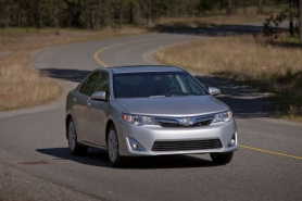 by: Courtesy of Toyota Motor Company New crisp styling and improved handling are just a few of the improvements in the 2012 Toyota Camry.