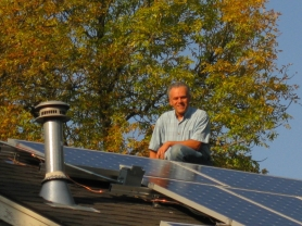 by: SUBMITTED PHOTOS West Linn resident Curt Sommer installed a solar panels on his roof, which he is leasing from Citizenre. They became operational last month and Sommer said the system is providing 40 to 50 percent of his household's electricity demand.