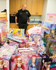 by: Chase Allgood Forest Grove Fire Marshal Dave Nemeyer says donations to the department's annual toy drive are down and demand is up.