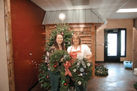 by: Jeff Spiegel April Backwell and Kimberly Reuther are the owners of Holiday Designs, located at 262 S. Broadway.