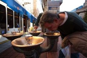 by: CHRISTOPHER ONSTOTT Portland's historic Benson Bubblers is one of many projects that critics say shouldn't be funded from residents' water and sewer bills.