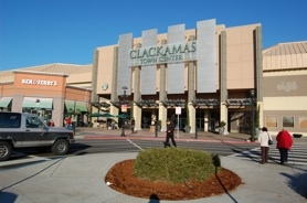 by: raymond rendleman The Clackamas Town Center shopping mall bustles for the holiday shopping season by mid-morning this week and has the highest property tax value for cities vying to acquire the currently unincorporated land.