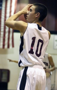 by: DAN BROOD IN CHARGE — Senior returnee Nathan Suyematsu will run the Tualatin offense from his point guard spot.