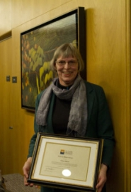 by: SUBMITTED PHOTO Elaine Dickson was one of three unsung heroes honored by the city of Lake Oswego this week.