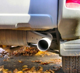 by: Merry MacKinnon As an anti-pollution device, a catalytic converter is part of a car's exhaust system, and is connected to the muffler. A thief probably targeted a Toyota pickup in Woodstock because this model's catalytic converter, which contains precious metals, is mounted without welds.