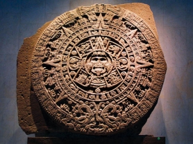 by: Contributed photo The Mayan calendar, shown here, marks the end of the 13th b'ak'tun, or 144,000-day period, on Dec. 21, 2012 – one year from now.