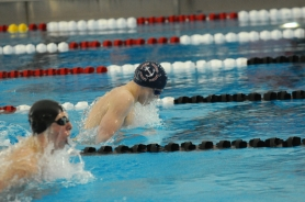 by:  VERN UYETAKE Luke Marshall returns to the Lake Oswego swim team this year after qualifying in four events at state last season.
